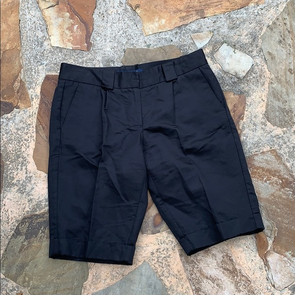 French Connection Pants - French Connection Bermuda Shorts pants 6 black